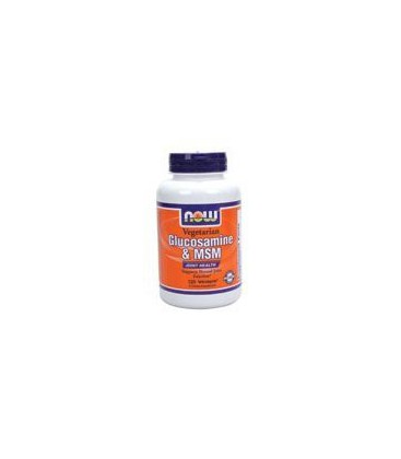 Glucosamine and MSM by Now Foods 120 Vegetarian Capsules