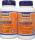 Now Foods Vitamin D3-1000iu, Soft-gels, 360-Count