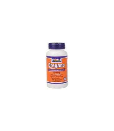 Now Foods Oregano 450mg, Capsules, 100-Count