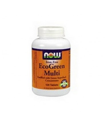 NOW Foods Eco-green Multi, 120 Tablets