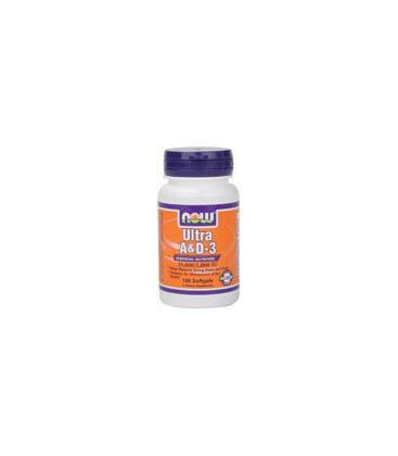 Now Foods Ultra A and D 25000/1000, Soft-gels, 100-Count