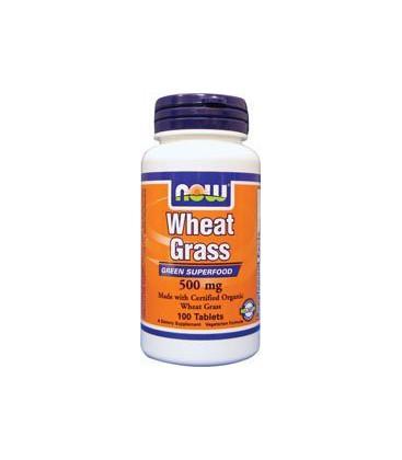 Wheat Grass 500 mg 100 Tablets
