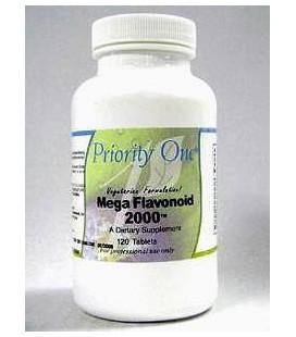 Priority One Mega Flavonoid 2000 120 Tabs