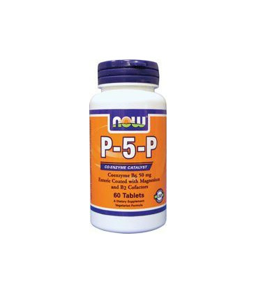 NOW Foods, P-5-P 50mg COMPLEX 60 TABS
