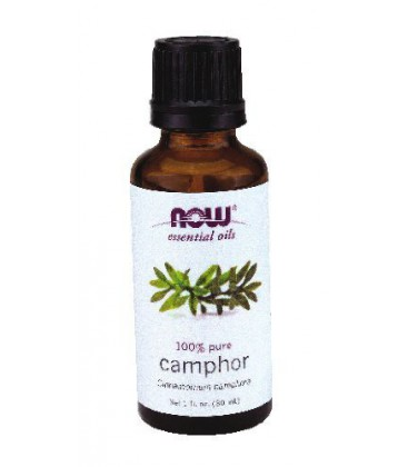 Now Foods Camphor Oil - 1 oz. ( Multi-Pack)