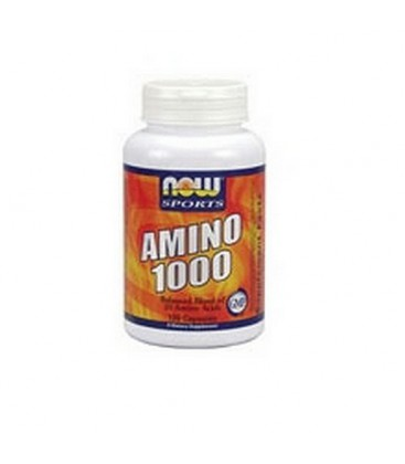 NOW Sports Amino Complete, 120 Capsules (Pack of 2)