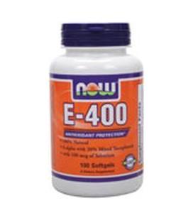 Now Foods Vitamin E-400 IU with Selenium 100 Softgels
