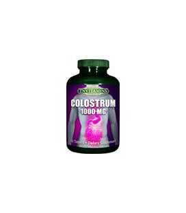 Pur colostrum bovin 1000 mg. - 120 comprimés