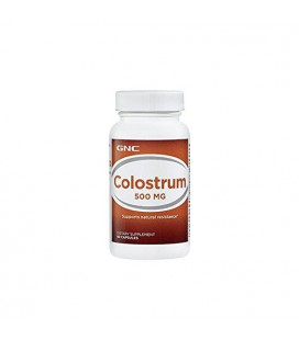 GNC colostrum 500 Mg 60 Capsules