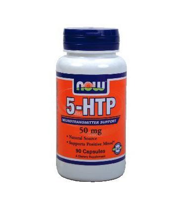 Now Foods 5-HTP 50 mg (90 caps) ( Multi-Pack)