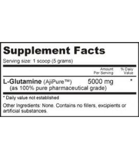NutraBio 100% pure L-Glutamine Powder - 2500 Grams - Testé HPLC, micronisées, Unflavored, sans additifs ou des charges, BPF. Su