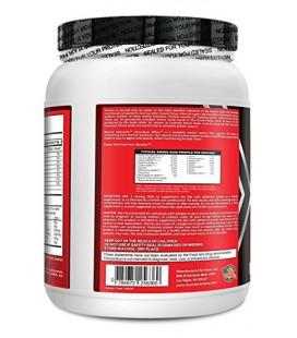 Herculéenne isolat protéique de lactosérum en poudre - sans lactose, sans gras, cholestérol libre, faible en sodium, faible ten