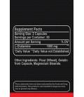 L-glutamine Maximum de 1000 Mg 100 Capsules. Extreme Sports Nutrition. Volume musculaire. Récupération d'entraînement Poster