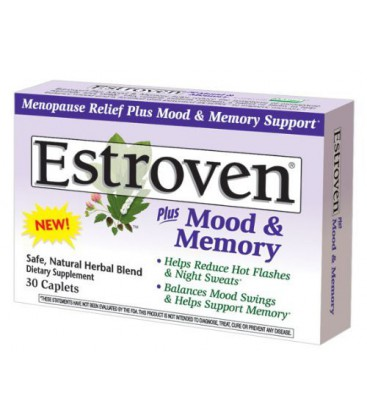 Estroven Plus Multi- Vitamin Caplets for Menopause, 30-Count