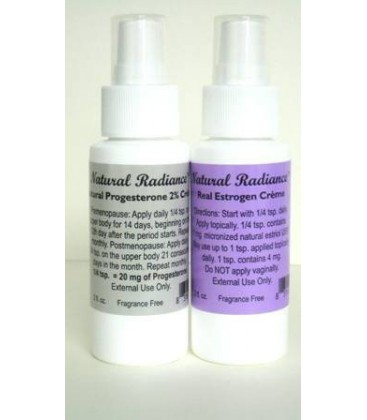 Estro Pack (2 oz. Bottles) - One (Bio-Identical) Progesteron