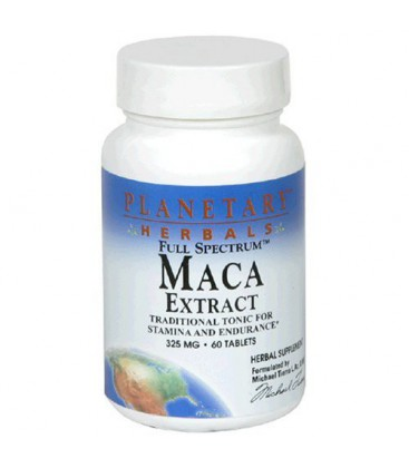 Planetary Herbals Full Spectrum Maca Extract, 325 mg, Tablet