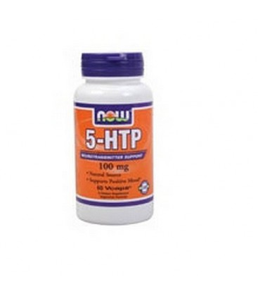 NOW Foods 5-HTP 100mg, 60 VCaps