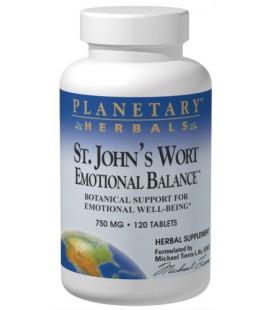 Planetary Formulas St. John's Wort Emotional Balance, 750 mg