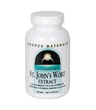 Source Naturals St. John's Wort 300mg, 240 Capsules