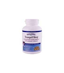 Natural Factors Stress-Relax Tranquil Sleep Chewable Tablets