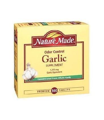 Nature Made Odor Control Garlic 1,250 mg Garlic Equivalent -