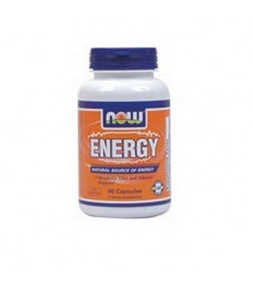 NOW Foods Energy, 90 Capsules (Pack of 2)