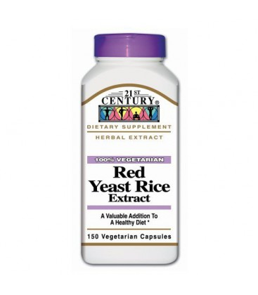 21st Century Red Yeast Rice, 150 Vegicaps