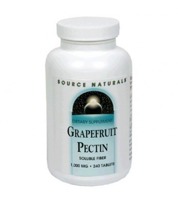 Source Naturals Grapefruit Pectin, 1000mg, 240 Tablets