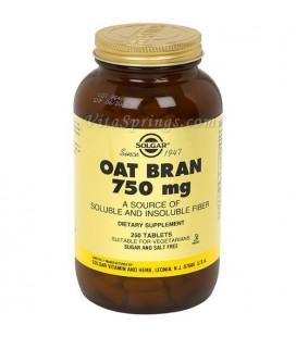 Solgar - Oat Bran, 750 mg, 250 tablets
