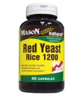 Mason Vitamins Red Yeast Rice 1200, 60 Capsules, Bottles (Pa