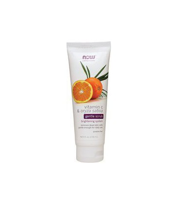 Solutions Vitamin C & Oryza sativa Gentle Scrub - 4 fl. oz. - Cream