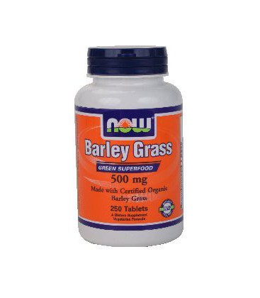 Now Foods Barley Grass 500 mg - 250 Tablets ( Multi-Pack)
