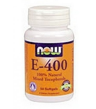 NOW Foods E-400 Mt, 100 Softgels (Pack of 2)