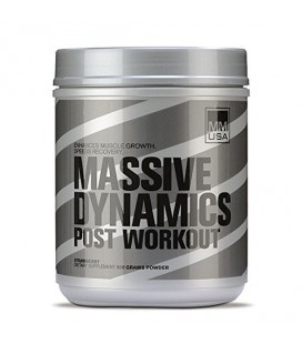 MMUSA Massive Dynamics Post-Workout Diet Supplement poudre, Fraise, 800 Gram