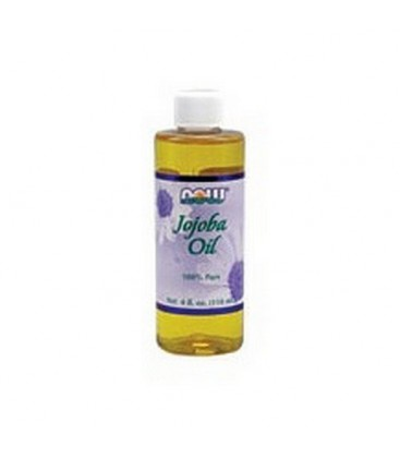 Now Foods Jojoba Oil Pure, 4 Ounces (Pack of 2)