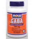 NOW Foods - GABA 500 mg 100 caps