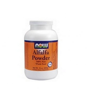 NOW Foods Alfalfa, 1 Pound (Pack of 2)