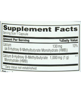 MET-Rx HMB 1000 Diet Capsules de supplément, 90 comte