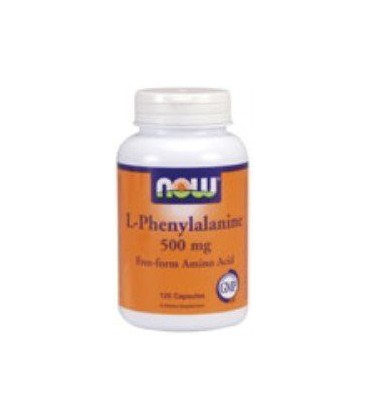 L-Phenylalanine 500 mg 120 Capsules Now Foods