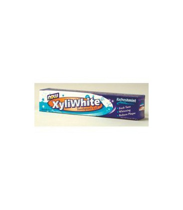 NOW Foods - XyliWhite Toothpaste Refreshmint 6.4 oz