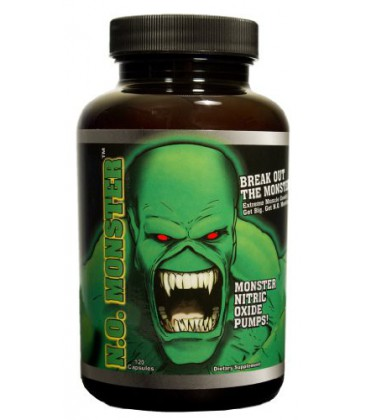 Colossal Labs NO Monster, 120 Capsules