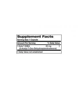 Bronson Labs: 7-Keto® DHEA, 25 mg 60 capsules