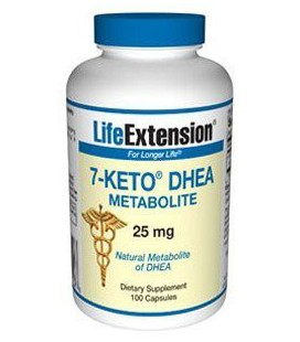 Life Extension - 7 Keto DHEA 25 mg, gélules, 100-comte