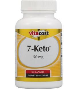 Vitacost 7-Keto - 50 mg - 120 Capsules