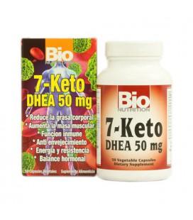 Nouvelles - Bio nutrition 7 Keto DHEA 50 mg - 50 Vegetarian Capsules