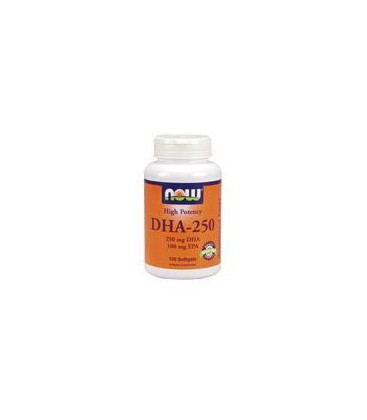 Now Foods DHA - 250, 120 softgels (Pack of 2)
