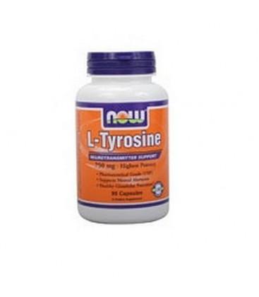 L-Tyrosine 750mg 90 Capsules