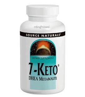 Source Naturals - 7-Keto DHEA 100mg 30 onglets