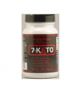 Nouvelles - Healthy Origins 7-Keto DHEA métabolite - 100 mg - 60 capsules végétariennes