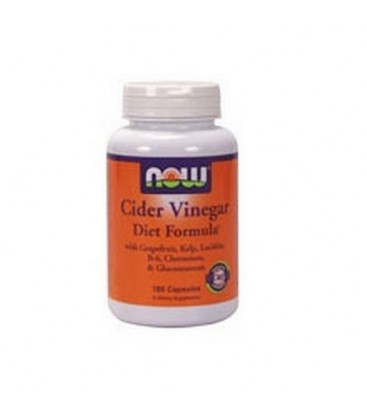 NOW Foods Cider Vinegar Diet, 180 Capsules (Pack of 2)